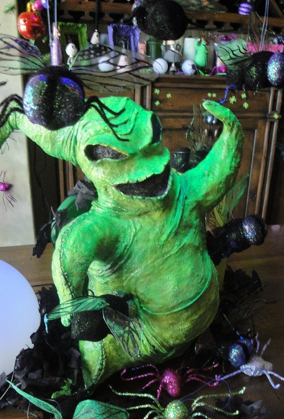 Halloween Custom Paper Mache Decor 2