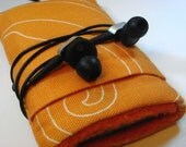 Orange Iphone 4s /ipod Touch/Cellphone Cozy/Cover/Sleeve