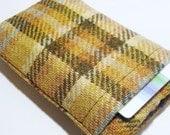 iPhone  6 6plus Samsung galaxy  Fabric Cover / Smartphone Sleeve  / Harris Tweed