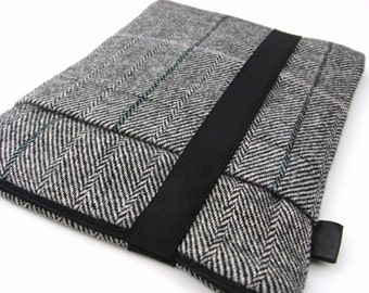 Ipad Air / Nexus 9 /  / Ipad  2 3 Cover / Sleeve / Harris Wool Tweed