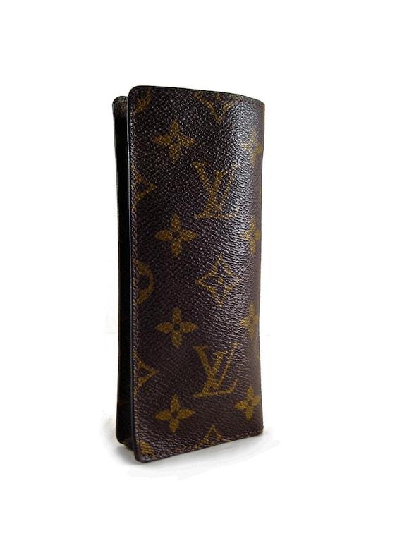 Louis Vuitton Eyeglass Case Monogram Authentic by COTIVE