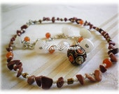 Ethnic Necklace/ Interchangeable Bracelet and Necklace Combo /Handmade by Me/ Gifts for Her