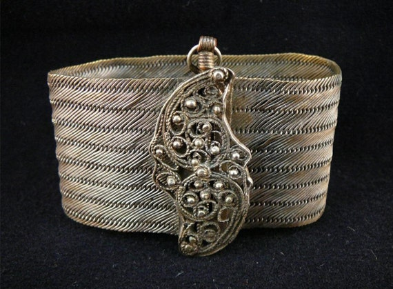 RESERVED Lovely Victorian Antique Mesh Bracelet
