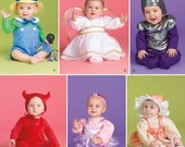 BABY HALLOWEEN COSTUMES PATTERN, SIMPLICITY 2524. Angel, Knight