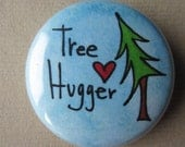 Tree Hugger Pin