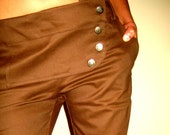 Beautiful Shaped Trousers- Brown