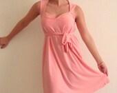ON SALE- Sweetheart Dress- Peach