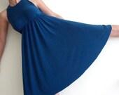 Bridesmaid Dress- Bridesmaid 'Rainbow' Blue Dress