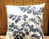 sale--Moringa tree Imprint Cushion / Pillow Cover