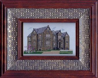 Centennial Hall, Mount Allison University, Sackville, New Brunswick