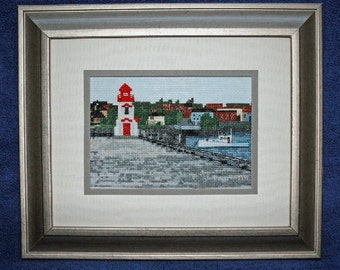 Chart for St. Stephen's Wharf, New Brunswick / Calais, Maine