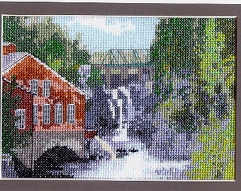 St. George's Falls Counted Cross Stitch Kit