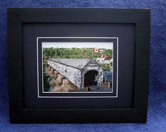 Hartland's Longest Covered Bridge in the world Kit