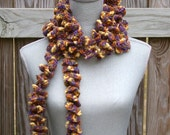 Scarf Hand Ivy League Twirl Crocheted