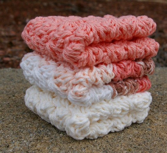 Crochet Patterns Using Peaches And Cream Yarn : Peaches and Creme Crochet Thread submited images.