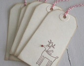 Red Nosed Rudolph (gift/hang tags)