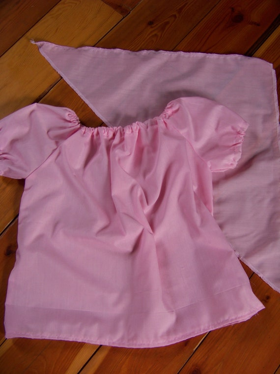 Reserved for Jaime Pink Girl Pirate Izzy shirt and bandana - Size 5