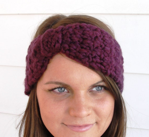Easy Crochet Headband Patterns For Beginners : HEADWRAP HEADBAND Turban Crochet Pattern Easy by ...