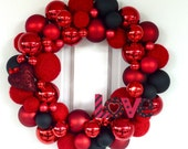 Dark Romance 16 inch wreath
