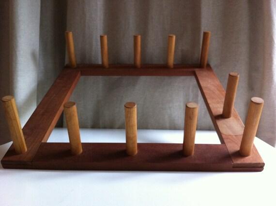 RESERVED - Warping Board / Weaving Loom Square 10 pegs