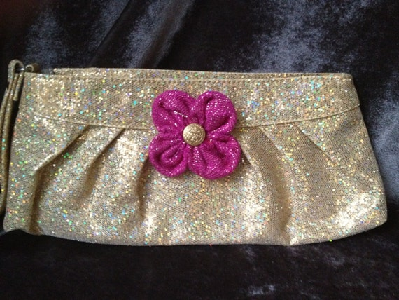 Sparkly Golden Evening Bag - Too Fabulous For Words