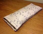 Birdyfeet Eye Pillow - Lavender Scented - Organic Cotton