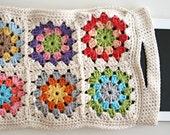 Crochet pattern Granny Square i-pad sleeve pdf tutorial - haakpatroon - REV it up