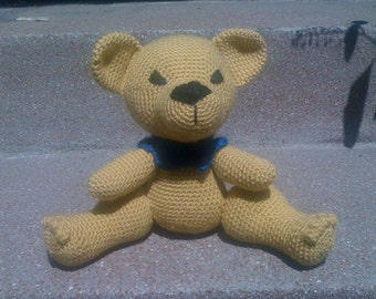 Sunny - The Grateful Dead Bear - Crochet Pattern Instructions