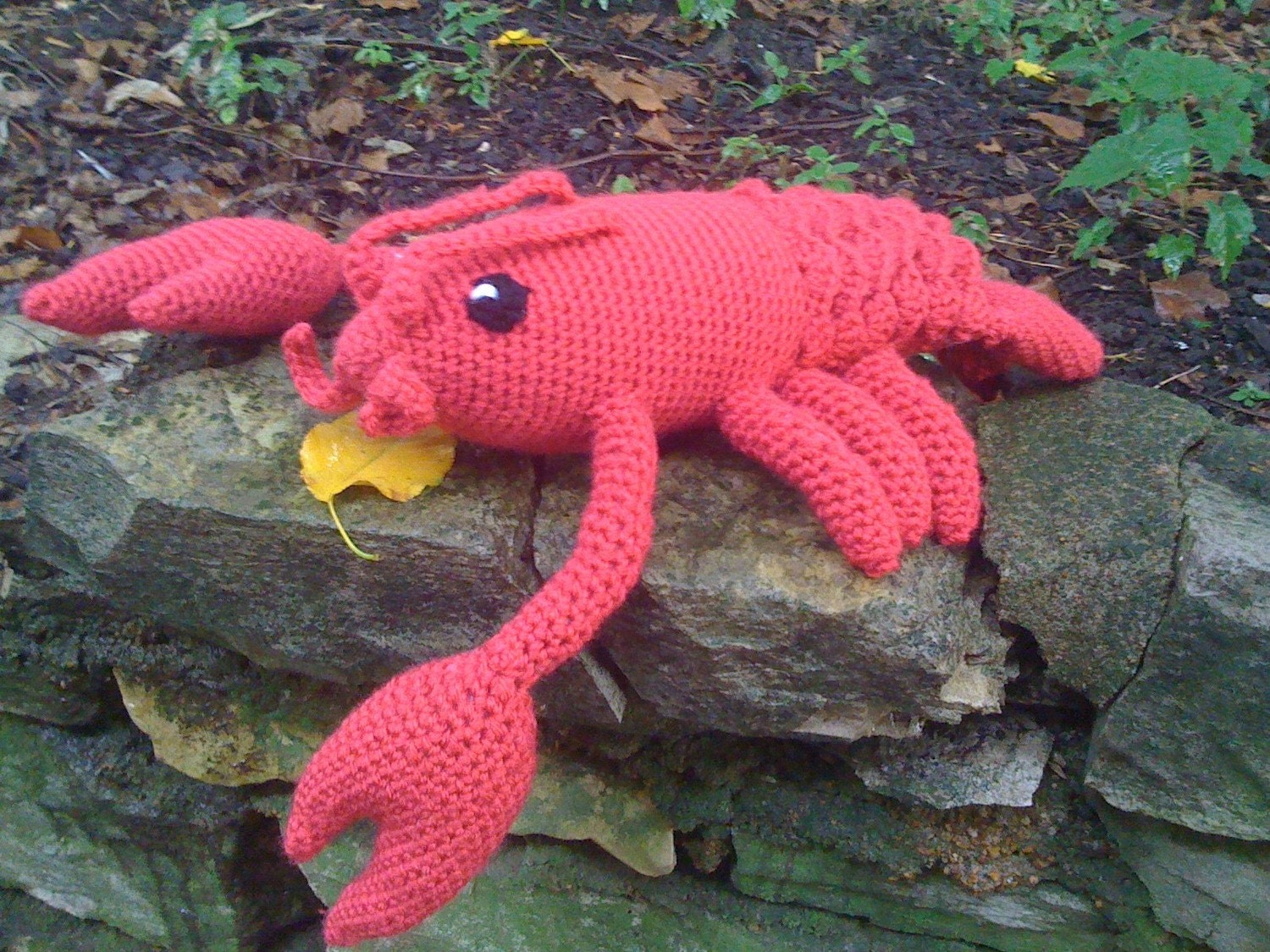 Lucy the Lobster - Crochet Pattern Instructions from ...