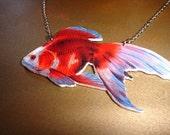 Red Goldfish, Vintage 1800s