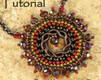 Tutorial & Ring:  Braided Circle Necklace