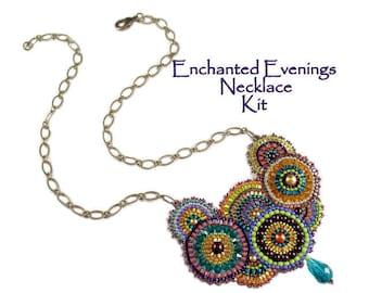 Beading Kit - Enchanted Evenings Necklace