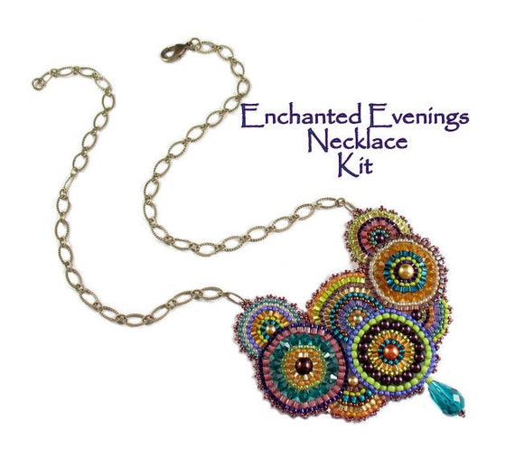 Beading Kit - Enchanted Evenings Necklace