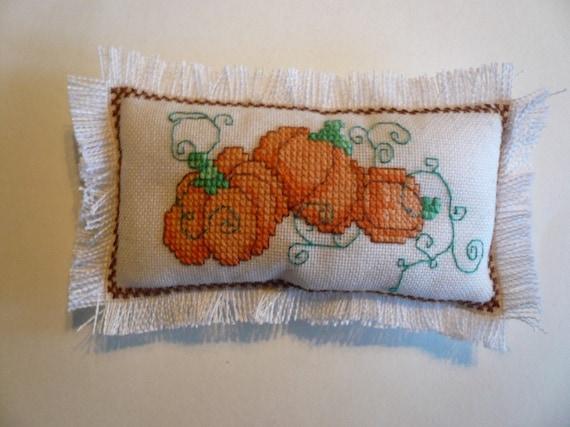 Miniature Pumpkin Pillow