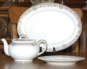 1912 Noritake 'Portland' TeaPot, Serving Set