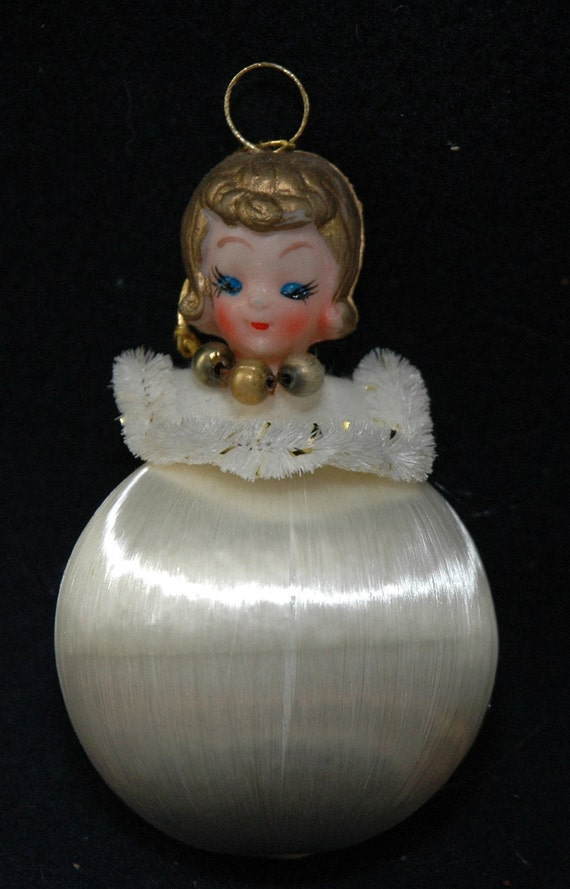 Vintage Satin - Sheen Christmas Ornaments in Original Box