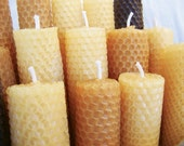 Beeswax Candles- Set of 2 Tapered, HOLIDAY SALE, Candles, Beeswax, Tapered Candle, Christmas Gift