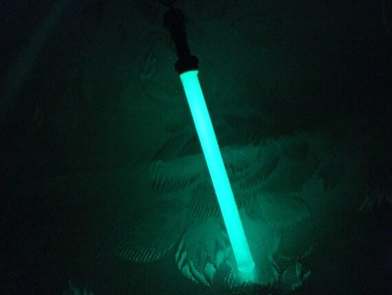 Glow In The Dark Star Wars Inspired Glass Lightsaber Pendant