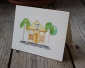 Key West Houses NOTE CARD SET