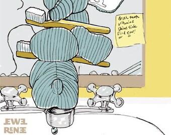 SALE Hellephant Has A Day - Children's Book - PDF - SALE