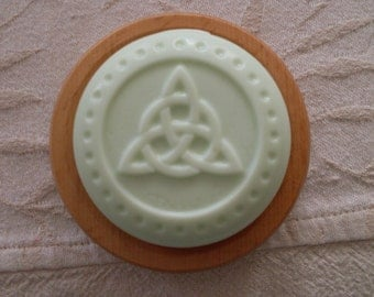 Celtic Knot - Fresh Bamboo - Shea Butter Soap 4 oz.