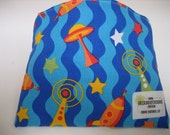 Reusable Snack Bag - Rocket and Waves - Free Shipping
