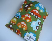 Reusable Sandwich Bag - Green Car - Free Shipping