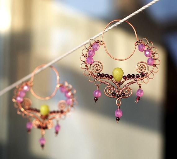 Gypsy Queen earrings - RESERVED for vunzya