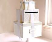 Wedding Card Box Money Holder Wedding Cardbox - IVORY