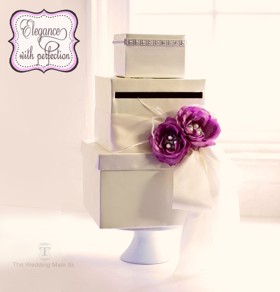 Wedding Card Boxes Money Holder Gift Card Boxes Wedding Reception Card ...