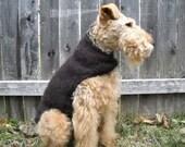 The Chester - Baby Alpaca Espresso Dog Sweater XXS - M