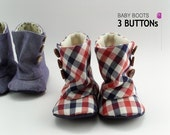 no 93 Baby 3 Button Boots PDF Pattern - sewingwithme1