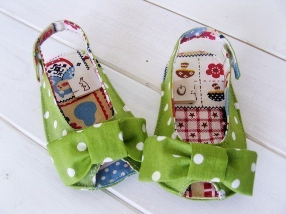 no 187 Anabelle Baby Sandals Sewing PDF Pattern