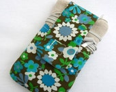 iPhone 4 Cover made from Vintage Fabric